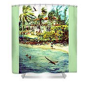 Paradise At Dorado Puerto Rico Shower Curtain