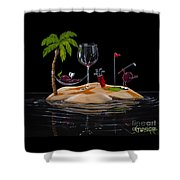 Paradise At Last Shower Curtain