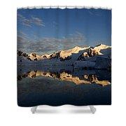 Paradise Harbor Sunset Shower Curtain