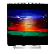 Paradise II Shower Curtain