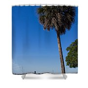 Paradise In Sarasota, Fl Shower Curtain