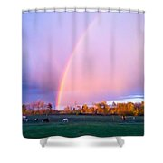 Paradise In The Pasture Shower Curtain