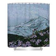 Paradise Mount Rainier Shower Curtain