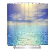 Paradise Sky Shower Curtain