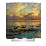 Paradise Sunset Shower Curtain