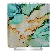 Paradise Waits Shower Curtain