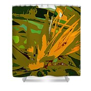 Paradise Work Number 9 Shower Curtain