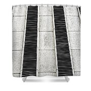 Parallel Shower Curtain