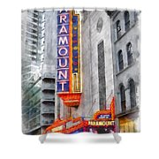 Paramount Theater Boston Ma Shower Curtain