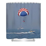 Parasailing In Florida Shower Curtain