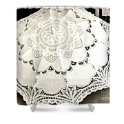 Parasol Display Shower Curtain