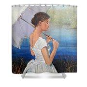 Parasol Shower Curtain