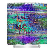 Parched - Abstract Art Shower Curtain