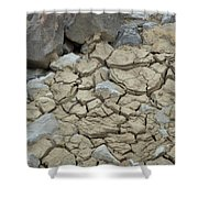 Parched Earth Shower Curtain