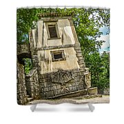 Parco Dei Mostri, Park Of The Monster, In Bomarzo Shower Curtain