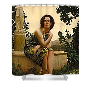 Pareu From The South Seas Shower Curtain