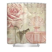 Parfum De Roses I Shower Curtain