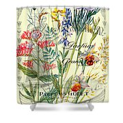 Parfums Godet Paris Shower Curtain