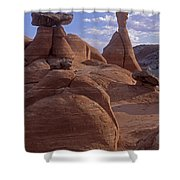 Paria Canyon Hoodoos Shower Curtain