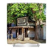 Parimount Ranch Sheriff Office Shower Curtain