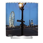 Paris At Dawn Shower Curtain