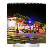 Paris At Night 13 Art Shower Curtain