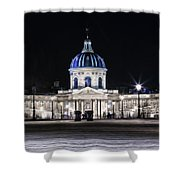 Paris At Night 20 Shower Curtain