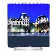 Paris At Night 21art Shower Curtain