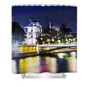 Paris At Night 22 Shower Curtain