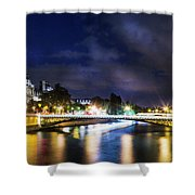 Paris At Night 23 Shower Curtain