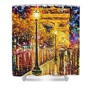 Paris - Campos Elises Shower Curtain