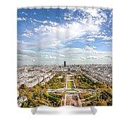 Paris City View 20 B Shower Curtain