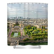 Paris City View 27 Shower Curtain