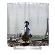 Paris City View 28 Shower Curtain