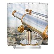 Paris City View 29 Shower Curtain