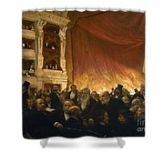 Paris: Comedie Francais Shower Curtain