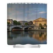 Paris Dawn Shower Curtain