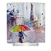 Paris Shower Curtain