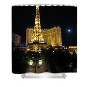 Paris Las Vegas Shower Curtain