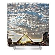 Paris Louvre Shower Curtain
