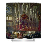 Paris: Notre Dame, 1841 Shower Curtain