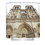 Paris Notre Dame Shower Curtain