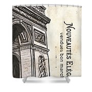 Paris, Ooh La La 2 Shower Curtain
