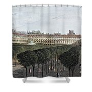Paris: Palais Royal, 1821 Shower Curtain