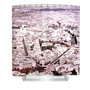 Paris Panorama 1955  Shower Curtain