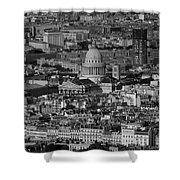 Paris Pantheon Shower Curtain