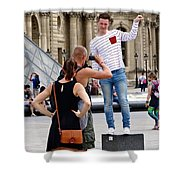 Paris Pix Shower Curtain