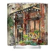 Paris Restaurant 5 - By Diana Van Shower Curtain