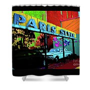 Paris Style Shower Curtain
