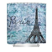 Paris - V01t01a Shower Curtain